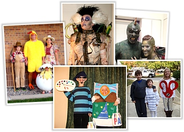 2011 Halloween costume contest winners