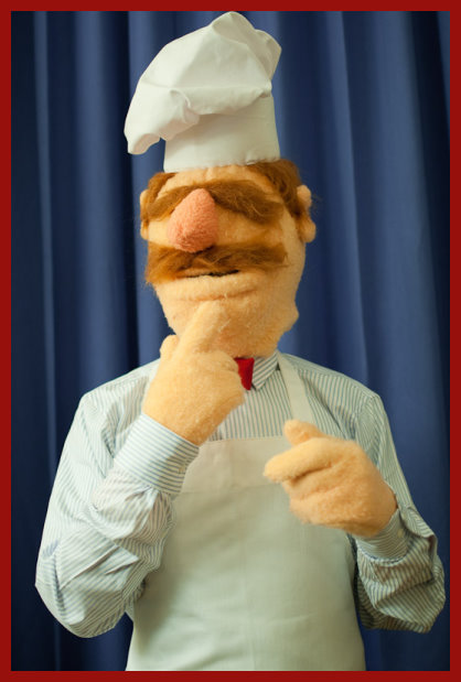Swedish Chef Bork Costume