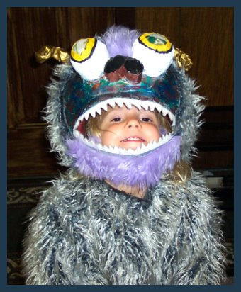 Cute Monster Costume