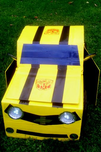 Bumble Bee Transformer Car