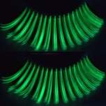 Zinkcolor Synthetic Glow In The Dark Eyelashes
