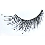 Zinkcolor White Pearl False Synthetic Eyelashes