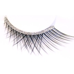 Zinkcolor Silver Glittery Band False Synthetic Eyelashes