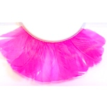 Pink Feather False Eyelashes