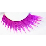 Zinkcolor Rosy Pink Plum False Synthetic Eyelashes