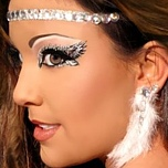 Xotic Eyes Angelic Glitter Professional Eye Makeup