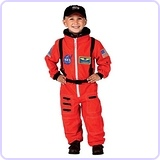 Aeromax Jr. Astronaut Suit with Embroidered Cap and NASA patches, Size 2/3