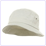 Washed Bucket Hat, Size: M/L
