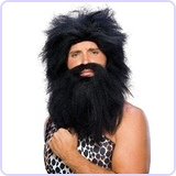 Caveman Beard and Wig