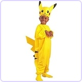 Child's Pikachu Pokemon Costume (Large 7-10)