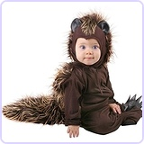 Infant Baby Porcupine Animal Costume