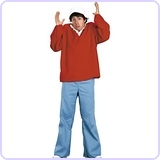 Gilligan Costume, Standard - Chest Size 33-45