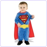 Superman Romper With Removable Cape, 1-2 Years