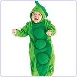 Pea in a Pod Baby Bunting Costume
