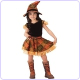 Lil Scarecrow Toddler Halloween Costume, Size 3-4T