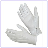 Cotton Parade Glove with Snap Back