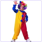 Child's Clown Costume, Medium