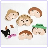 Jack and the Beanstalk - Storytelling Foam Play Masks