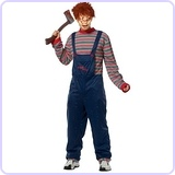 Men's Licensed Chucky Costume