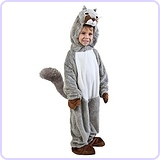 Toddler Squirrel Costume (Size: 2-4T)