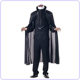 Men's Headless Horseman Costume, X-Large