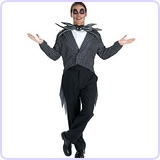 The Nightmare Before Christmas Jack Skellington Classic Costume