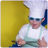 Chefskin Chef Set Kids Chef Jacket + Apron +Hat