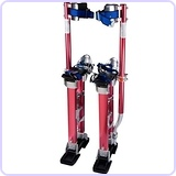 "Aluminum 24"" to 40"" Adjustable Drywall Stilts"