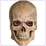 Deluxe Overhead Skull Mask