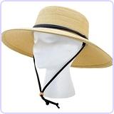 Women's  Wide Brim Braided Sun Hat