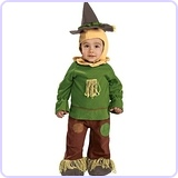 Wizard Of Oz Scarecrow Romper Costume, 1 to 6 Months
