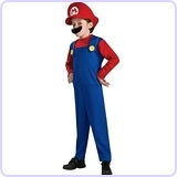 Super Mario Brothers, Mario Costume, Small