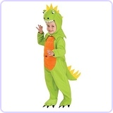 Plush Dinosaur Child Costume, Small