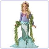 Little Mermaid Costume, X-Small