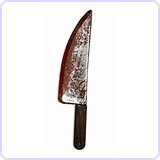 Bloody Weapons Toy Knife