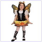 Monarch Butterfly Costume,Small