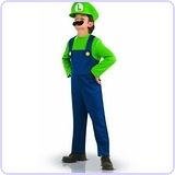 Super Mario Brothers, Luigi Costume, Small
