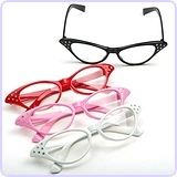 Cateye Glasses, 1 Pair