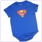 Superman Classic Shield Infant Snapsuit