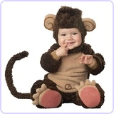 Baby's Lil' Monkey Costume, Large (18-24 Months)