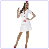 Costume Culture Women's Classic Nurse Costume, Small