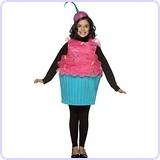 Cupcake Costume, 7-10 Years