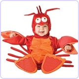 Baby's Lil' Lobster Costume, Medium (12-18 months)
