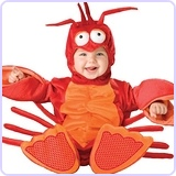 InCharacter Unisex-baby Newborn Lobster Costume 6-12 Months