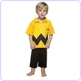 Peanuts Charlie Brown Child Costume Kit, Size 3-4T