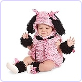 Baby Girls' Pink Poodle Costume