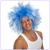 Character Wig, Funky Punk Blue