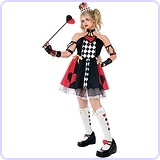 Queen of Hearts Costume - Teen