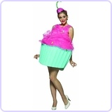 Cupcake Costume, Adult size 4-10