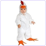 Little Chick Costume 2T-4T